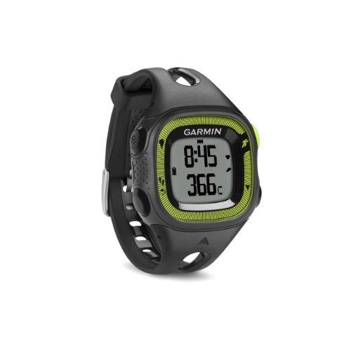 Garmin 010-01241-60 Forerunner 15 GPS Watch (Small) Black/Green