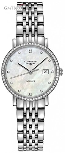 Longines-Elegant-Collection-Stainless-Steel-Automatic-Ladies-Watch-L43100876