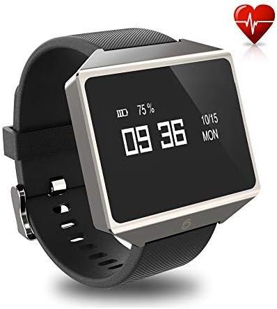 Amazon.com: Reloj inteligente GFiD con ECG PPG para hombres ...