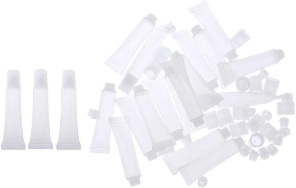 perfeclan 40pcs 8g Vide Gloss Gloss Bricolage Tubes L/èvre Teint Teinture Contenants Bouteilles