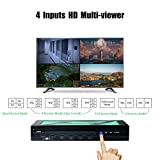 KVM Switch HDMI Multi-Viewer USB Seamless