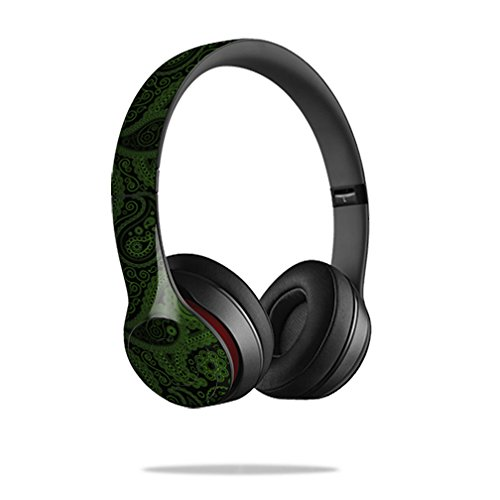 Mightyskins Protective Vinyl Skin Decal Cover for Dr. Dre Beats Solo2 Headphones wrap sticker skins Paisley