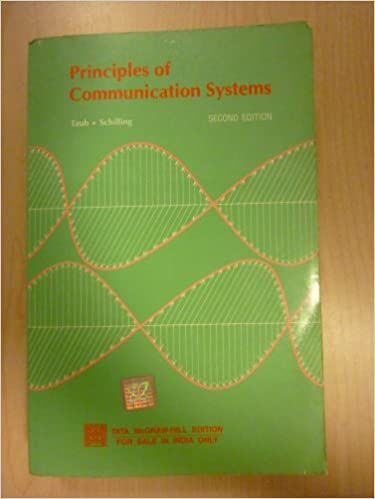 Principles of Communication Systems 2nd Edition