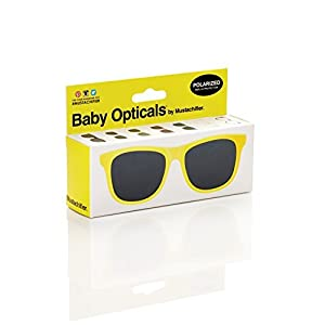 FCTRY - Baby Opticals, Yellow Polarized Sunglasses, Ages 0-2