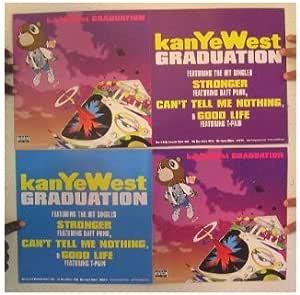 Album Kanye West Graduation Studio Music Cover Silk Custom Poster Y35