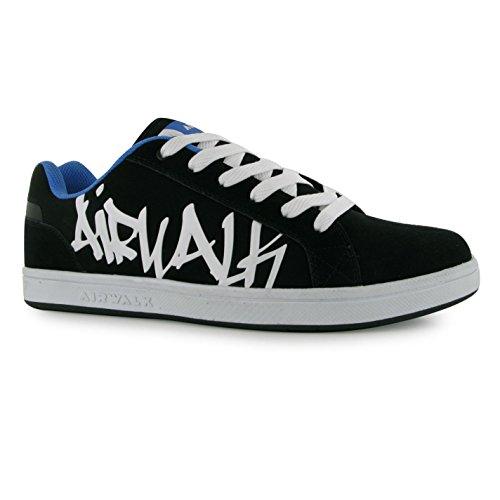 Airwalk Neptune Skate Schuhe Herren Schwarz/Blau Casual Sportschuhe Sneakers
