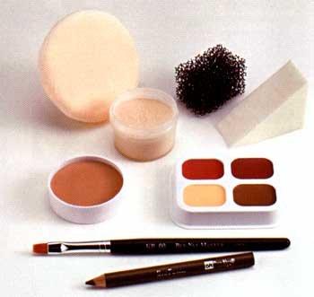 Ben Nye Fair medium Tan Creme Personal Kit