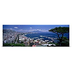 Great BIG Canvas Poster Print entitled Naples Italy