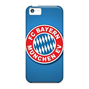 TanyaCulver Iphone 5c Durable Cell-phone Hard Cover Customized Trendy Fc Bayern Munich Skin [fRW22388DVXv]