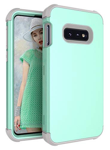 Galaxy S10e Case, Yoomer 3 in 1 Shockproof & Scratch-Resistant Hybrid Impact Armor Defender Cover Silicone Rubber Skin Hard Back Cover Full Body Coverage Protection Case for Samsung Galaxy S10e 5.8
