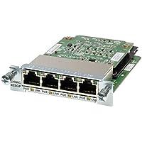 Cisco EHWIC-4ESG-P POE 4 Port 10/100/1000 Enhanced High-Speed WAN Interface Card