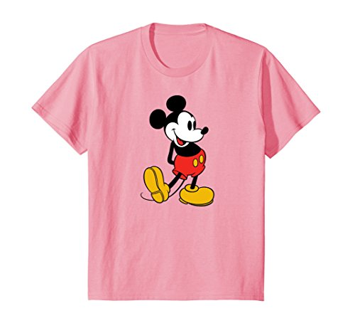 Price comparison product image Kids Disney MIckey Mouse Classic Stand T-Shirt 12 Pink