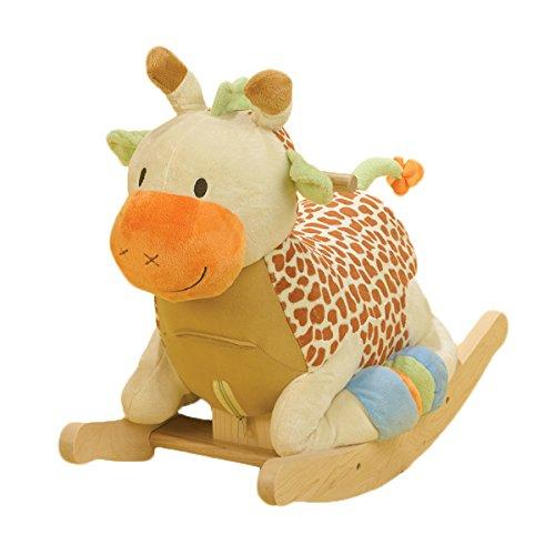 Furniture Rockabye Baby (Rockabye Raffi Giraffe Rocker, One Size)