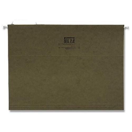 Sparco 標準ハンギングファイルフォルダ レターサイズ 1/5タブカット グリーン 1箱25枚入り   B016P3CX6Y