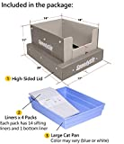 SpeedySift Cat Litter Box with Disposable Sifting