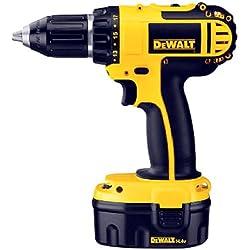 DEWALT DC730KA Cordless 14.4-Volt Compact Drill/Driver