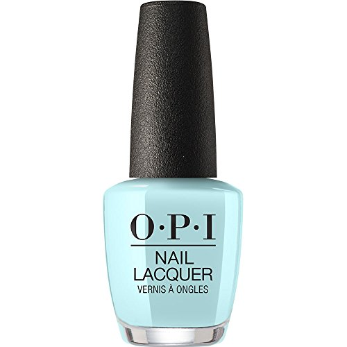 bright blue opi nail polish - 4