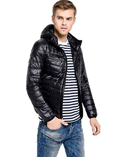 Mens Hooded Bubble Jacket - 8