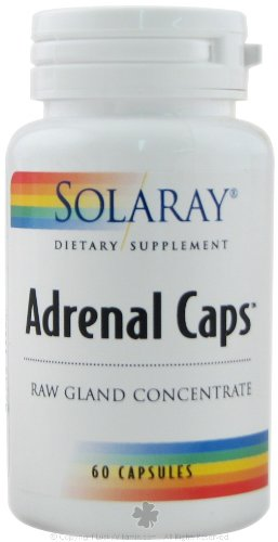 Solaray Adrenal Caps 170mg 60 ea