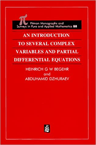 Pure mathematics free ereader books directory epub ebooks an introduction to several complex variables and partial differential equations hardcover ibook fandeluxe Gallery