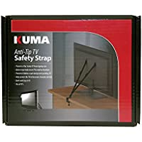 KUMA Mounts - Anti Tip Safety Straps for All Flatscreen TVs - LED LCD Plasma - Hardware Included