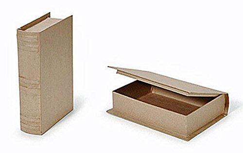 Paper Mache Book Box 9 3