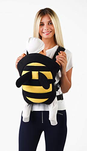 Ergonomic Baby Carrier Soft Breathable Baby Carriers Backpack Front and Back for Infants – Cute Animals – Bee