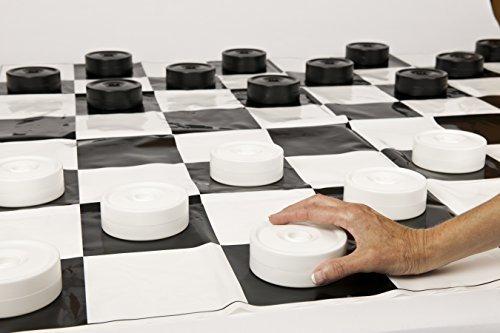 Junior Jumbo Checkers (Played on a 4` X 4` Mat!)の商品画像