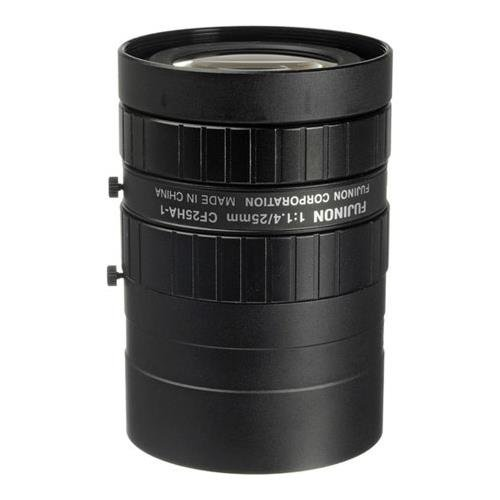 Fujinon CF25HA-1 1'' 25mm f/1.4 Manual Iris and Focus Industrial Lens for High Resolution C-Mount Machine Vision Cameras by Fujinon