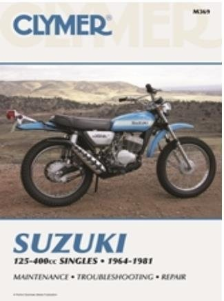 amazon com clymer repair manual for suzuki 125 400 singles 64 81 rh amazon com 1982 Suzuki GS500 1982 Suzuki GS850