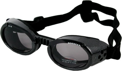 Doggles ILS XSmall -Black / Smoke Lens by Doggles