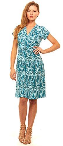 Buy belted midi summer dress - 4