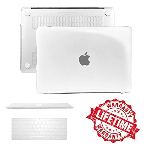 Crystal Case Cover with Keyboard Cover Compatible Macbook Pro 13.3