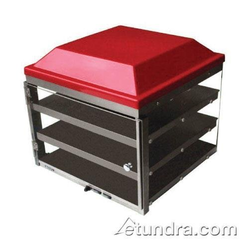 Adcraft - PW-16 - 16 in Three Tier Pizza Merchandiser by Adcraft