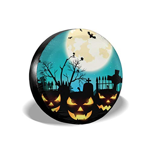 BAG9S-G Halloween Night Tire Covers Car SUV Camper