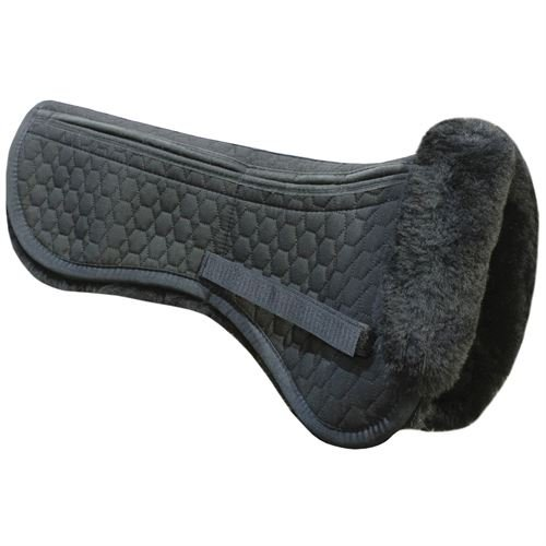 E.A. Mattes All Purpose Correction Half Pad (Black, M)