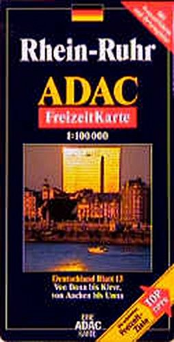 ADAC FreizeitKarte, Bl.13, Rhein-Ruhr (ADAC Freizeitkarten)