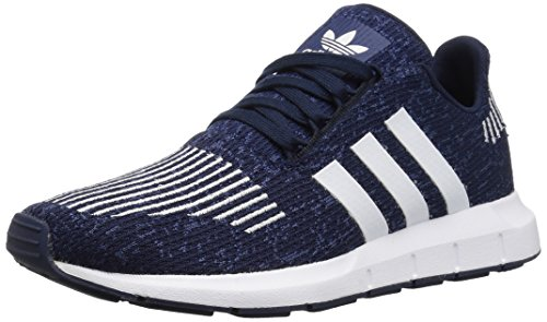 Price comparison product image adidas Originals Unisex Swift Running Shoe, Collegiate Navy/White/Mystery Blue, 5 M US Big Kid
