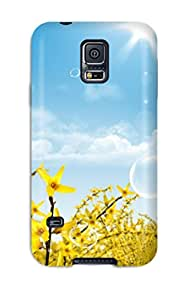 Tpu Case Cover Compatible For Galaxy S5/ Hot Case/ Manipulation Photography People Photography