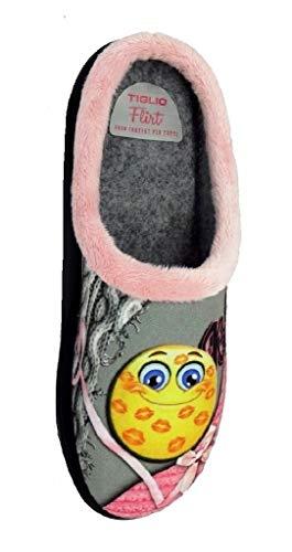 Flexia Antibatterico Art Donna Ciabatte Sottopiede 5211 Tiglio Rosa dxqTwdt