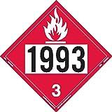 Labelmaster ZVR21993 UN 1993 Flammable Liquid