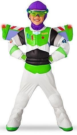 Disney Store Light Up Toy Story 3 Buzz Lightyear Costume for Boys Size Small 5/6 (Disney Buzz Lightyear Costume)