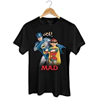 Camiseta Batman e MAD