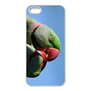 linJUN FENGThe Cute Acutilingual Parrot Hight Quality Plastic Case for Iphone 5s