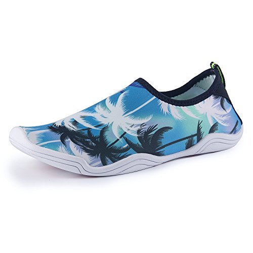 Zapatos de agua para hombre Playa para nadar para mujeres Zapatos de secado  rápido Piscina Aqua Socks Zapatos para Surf Aeróbicos acuáticos de yoga ... e6139e46dc6f