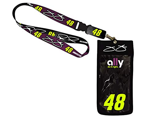 R and R Imports, Inc Jimmie Johnson #48 Deluxe Credential - Jimmie Lanyard Johnson