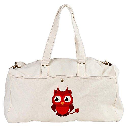Duffel (Duffle) Bag Little Spooky Owl Devil Monster
