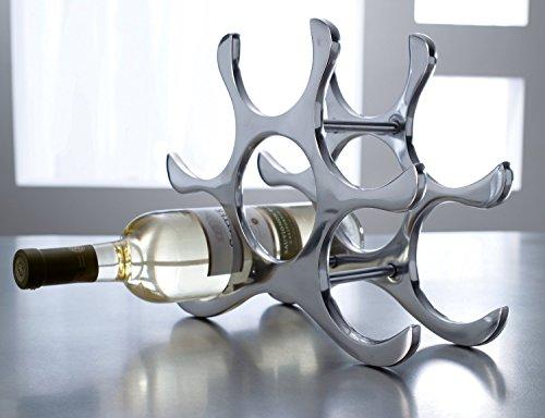 6 bottle countertop wine rack - 4
