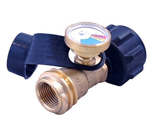 KIBOW Propane Tank Gauge/Leak Detector. Suitable For BBQ Grill,Heater & All Other Propane Appliances