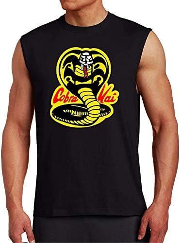 Cobra Kai Black Muscle T